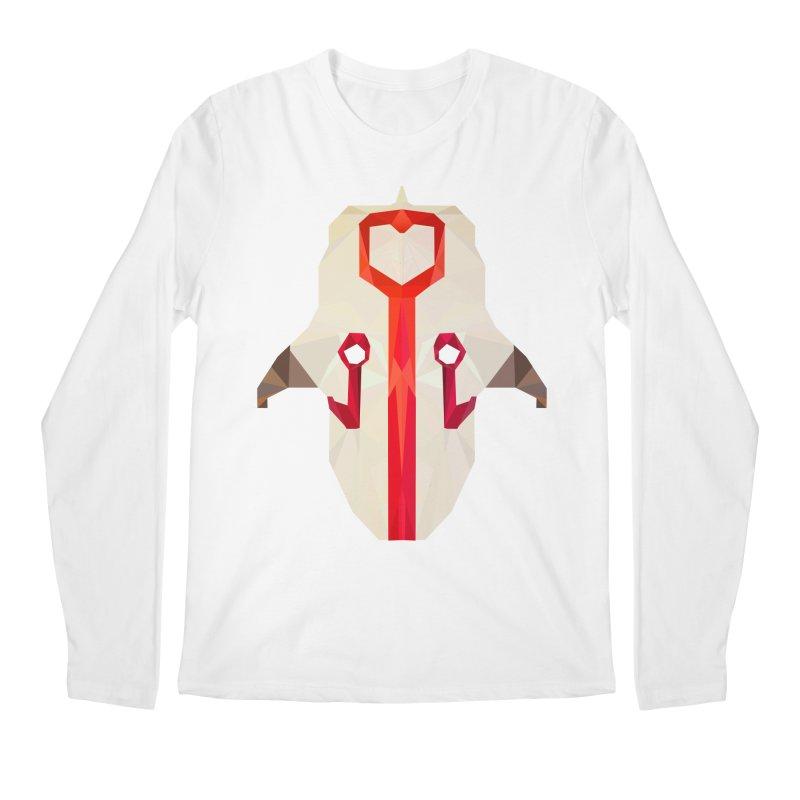 Low Poly Art - Juggernaut Men's Regular Longsleeve T-Shirt by lowpolyart's Artist Shop