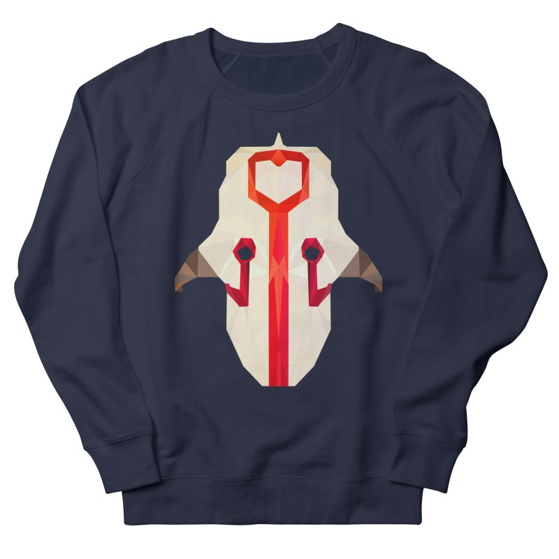 Low Poly Art - Juggernaut Women's French Terry Sweatshirt by lowpolyart's Artist Shop