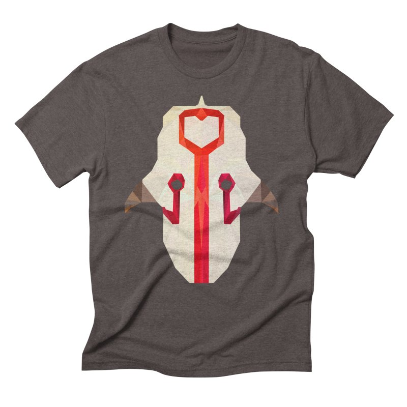 Low Poly Art - Juggernaut Men's Triblend T-Shirt by lowpolyart's Artist Shop