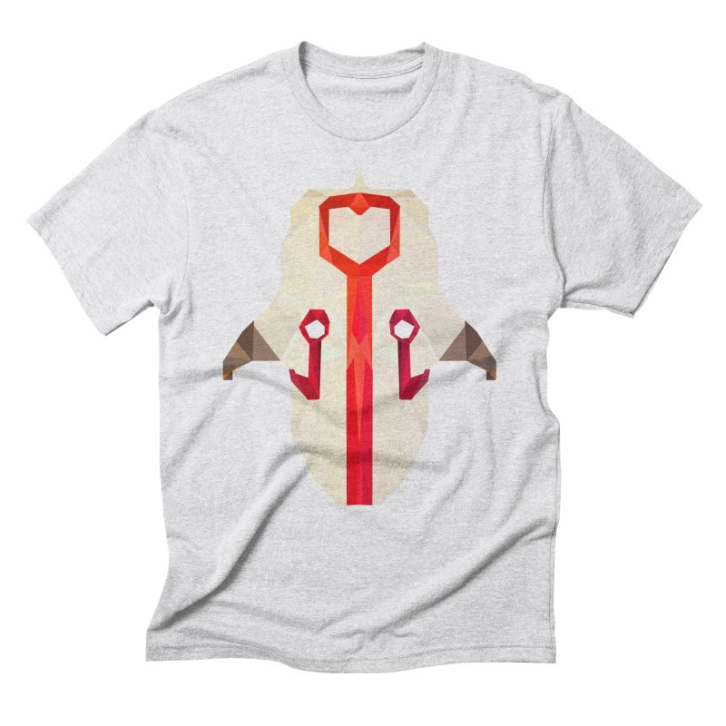 Low Poly Art - Juggernaut Men's Triblend T-Shirt by lowpolyart's Artist Shop