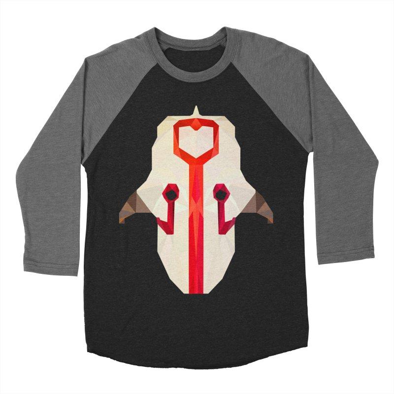 Low Poly Art - Juggernaut Women's Baseball Triblend Longsleeve T-Shirt by lowpolyart's Artist Shop