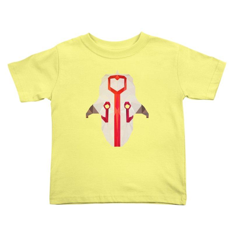 Low Poly Art - Juggernaut Kids Toddler T-Shirt by lowpolyart's Artist Shop