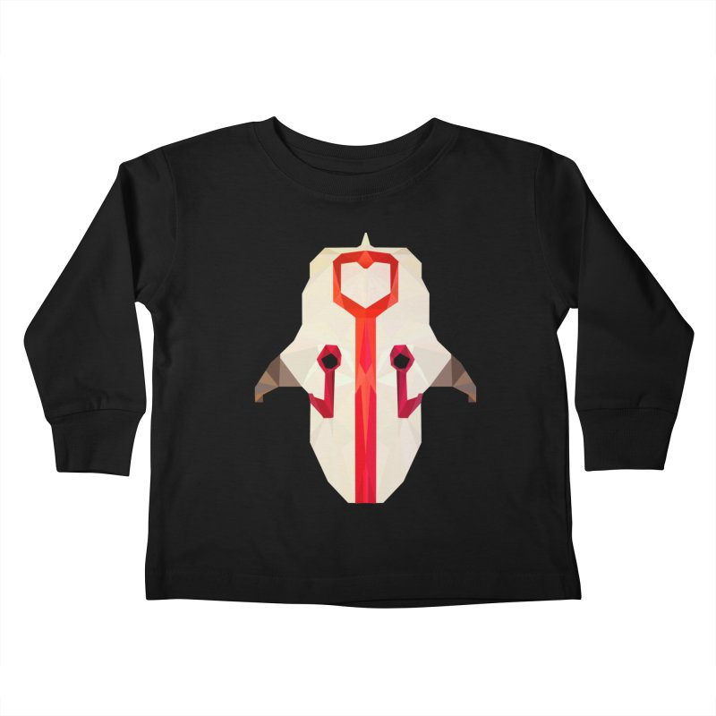 Low Poly Art - Juggernaut Kids Toddler Longsleeve T-Shirt by lowpolyart's Artist Shop
