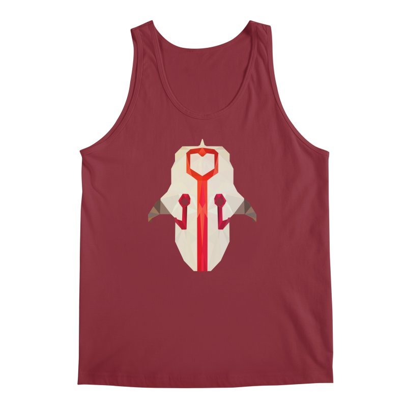 Low Poly Art - Juggernaut Men's Tank by lowpolyart's Artist Shop