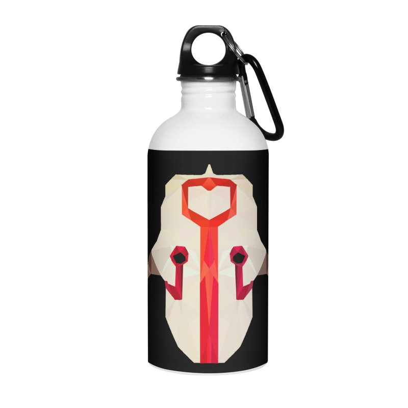 Low Poly Art - Juggernaut Accessories Water Bottle by lowpolyart's Artist Shop