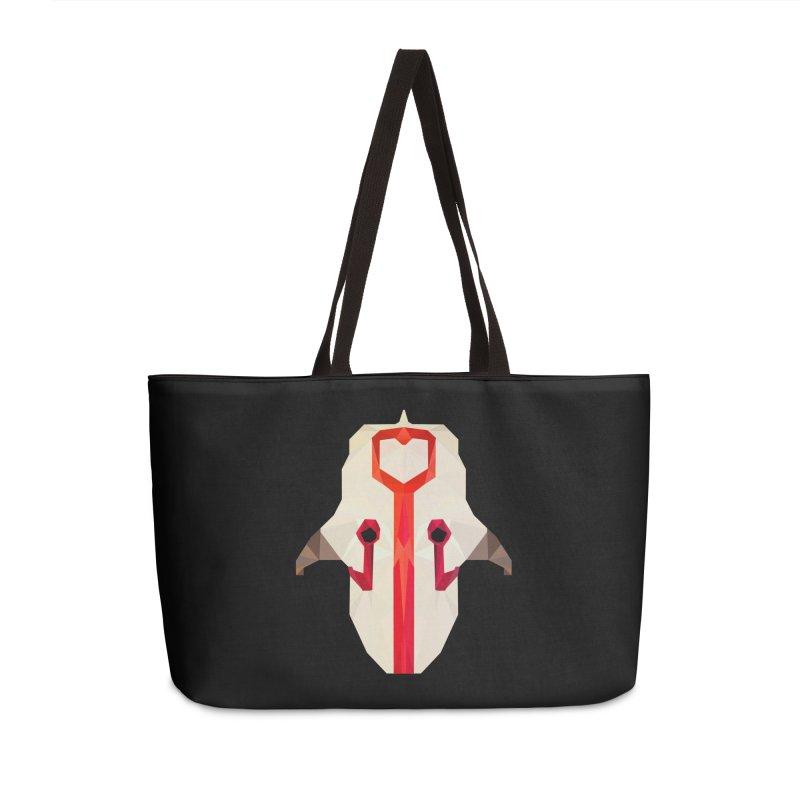 Low Poly Art - Juggernaut Accessories Weekender Bag Bag by lowpolyart's Artist Shop