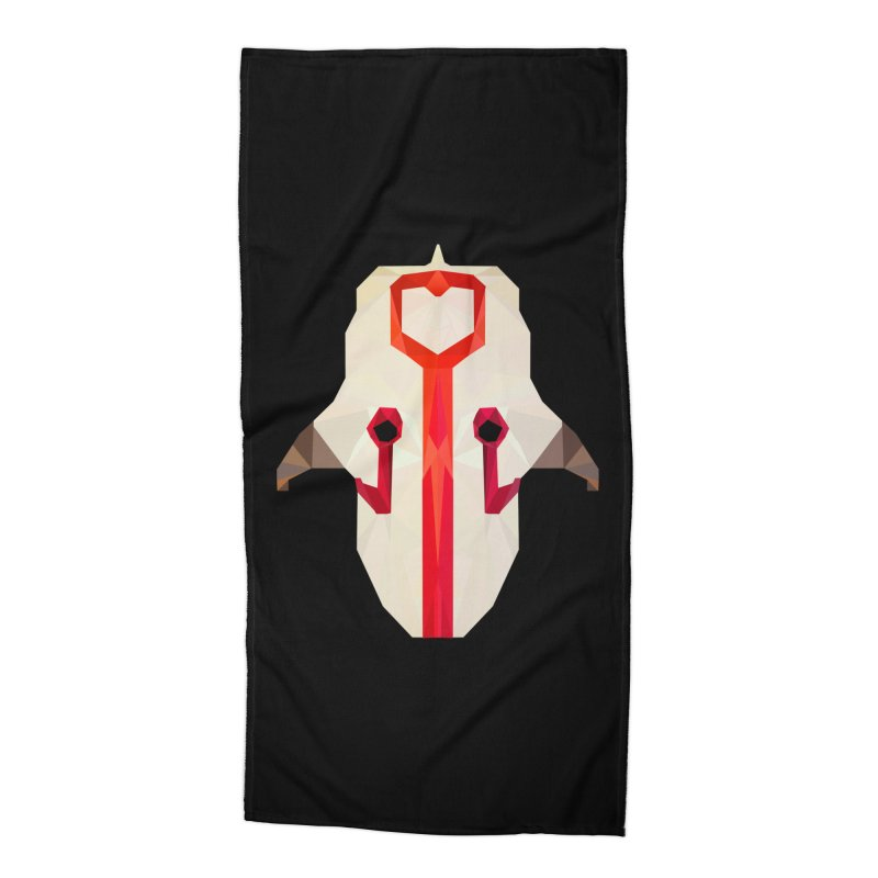 Low Poly Art - Juggernaut Accessories Beach Towel by lowpolyart's Artist Shop