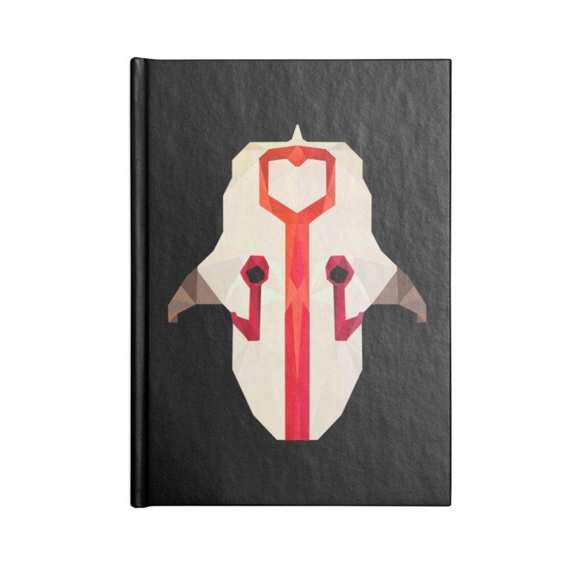 Low Poly Art - Juggernaut Accessories Lined Journal Notebook by lowpolyart's Artist Shop