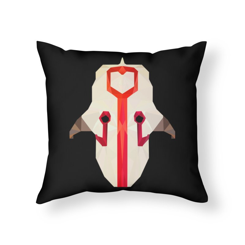 Low Poly Art - Juggernaut Home Throw Pillow by lowpolyart's Artist Shop
