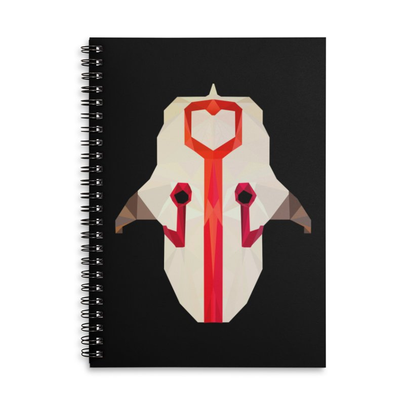 Low Poly Art - Juggernaut Accessories Lined Spiral Notebook by lowpolyart's Artist Shop