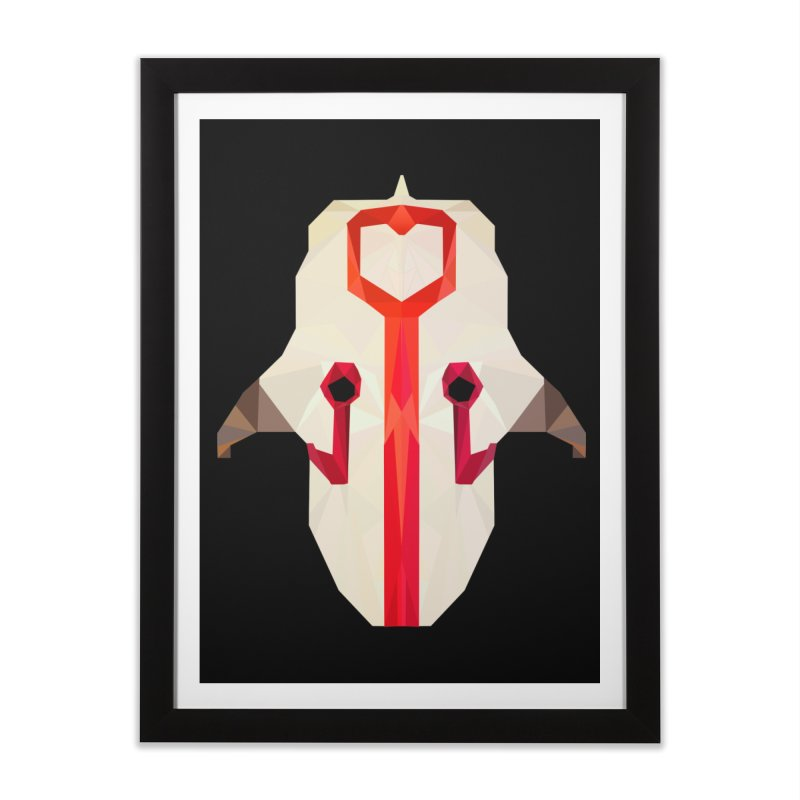 Low Poly Art - Juggernaut Home Framed Fine Art Print by lowpolyart's Artist Shop