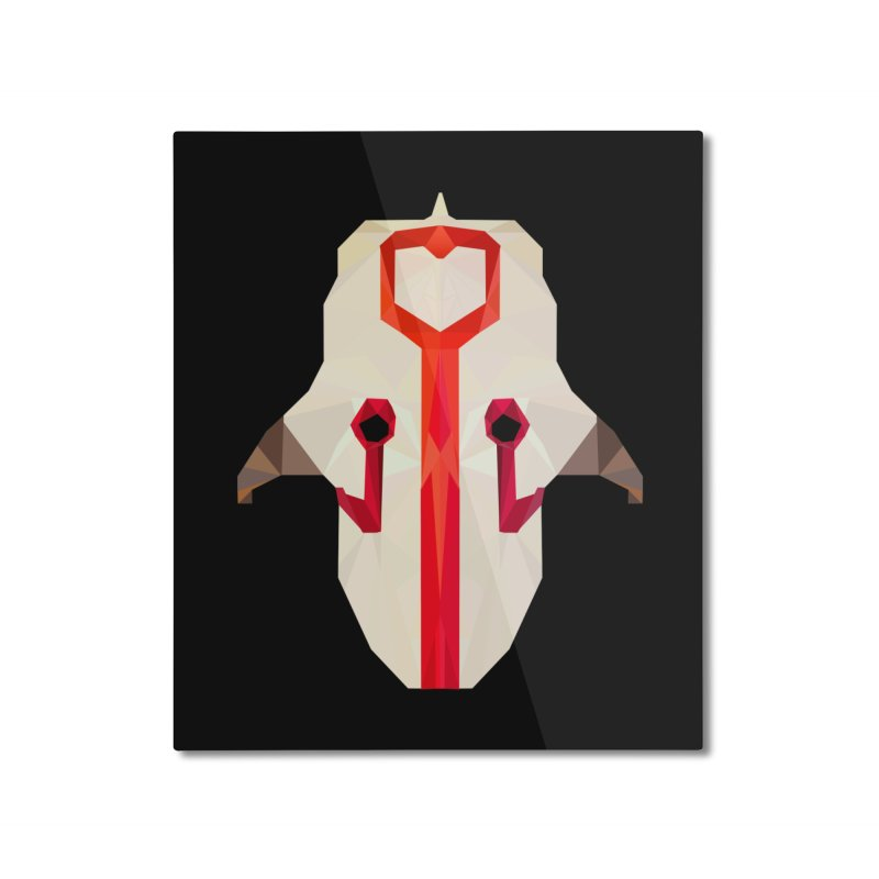 Low Poly Art - Juggernaut Home Mounted Aluminum Print by lowpolyart's Artist Shop