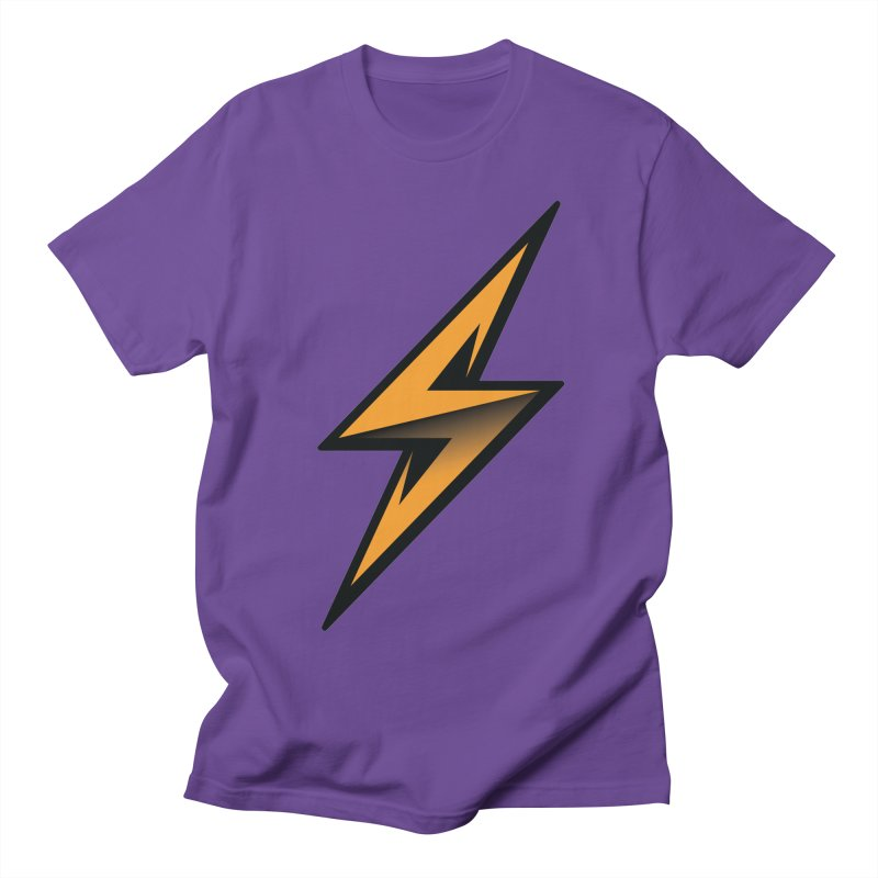 Super Villain in Men's Regular T-Shirt Purple by LS Creative Shop
