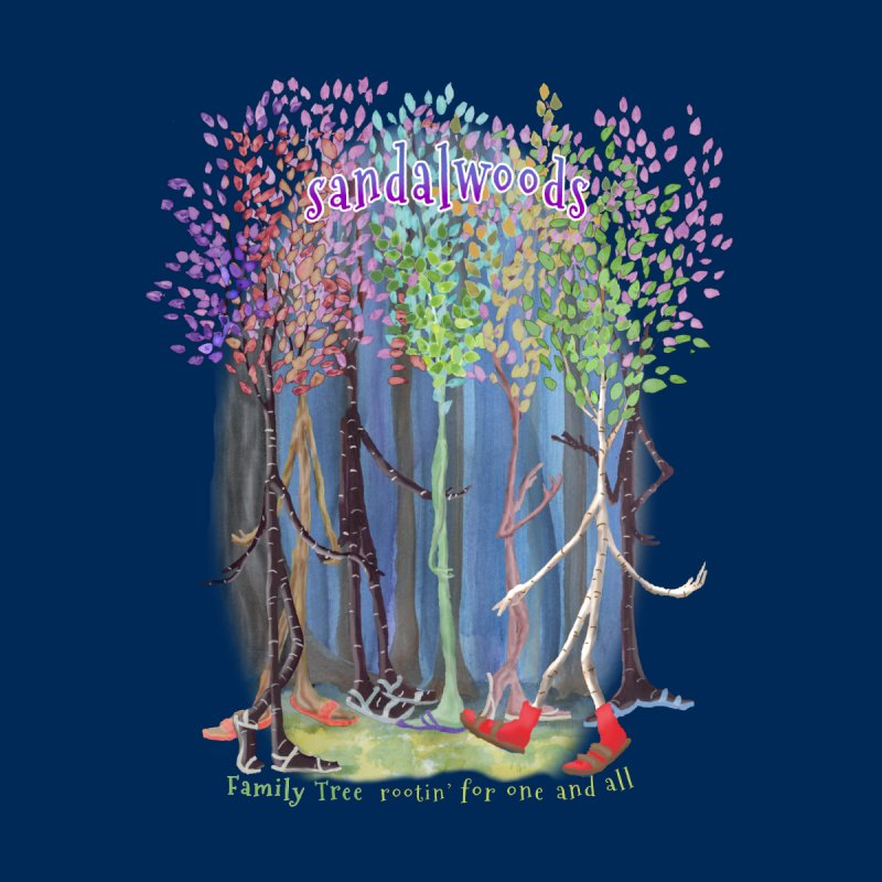 Sandalwoods Women's T-Shirt by Family Tree Artist Shop