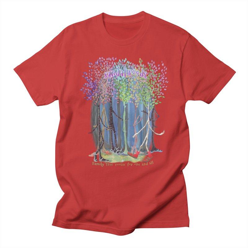 Sandalwoods Men's Regular T-Shirt by Family Tree Artist Shop