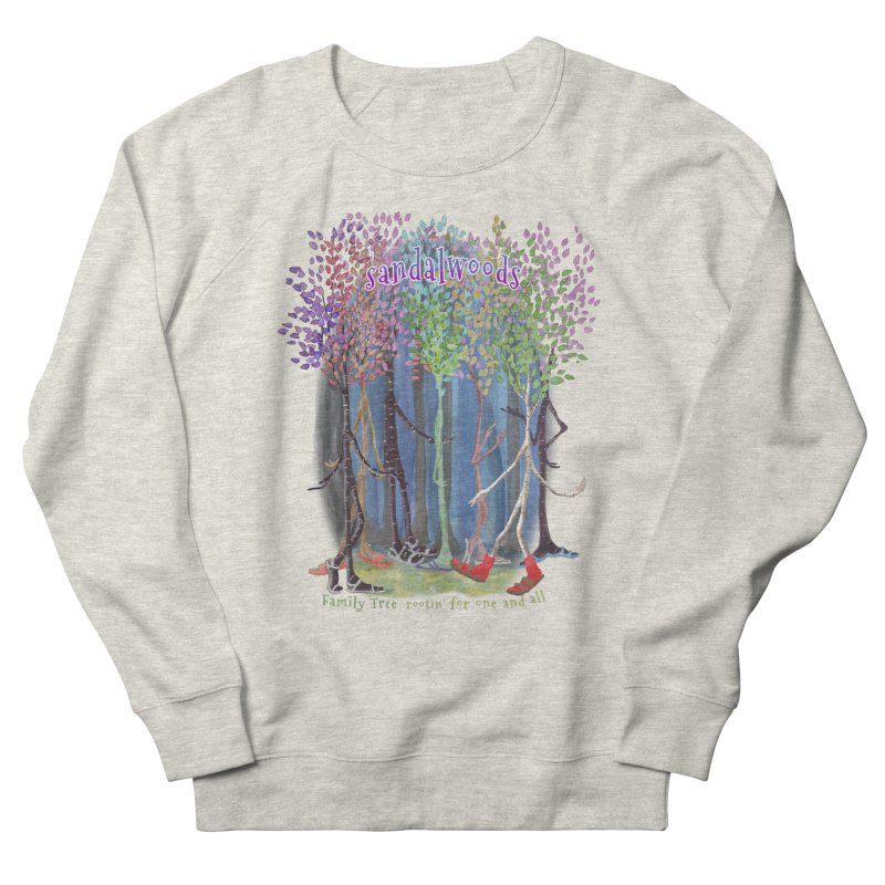 Sandalwoods Women's French Terry Sweatshirt by Family Tree Artist Shop