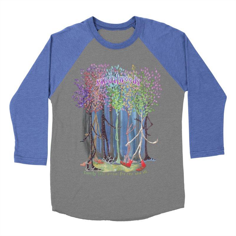 Sandalwoods Women's Baseball Triblend Longsleeve T-Shirt by Family Tree Artist Shop