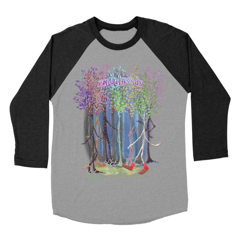 Sandalwoods Men's Baseball Triblend Longsleeve T-Shirt by Family Tree Artist Shop