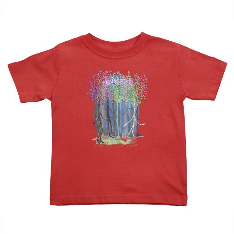 Sandalwoods Kids Toddler T-Shirt by Family Tree Artist Shop