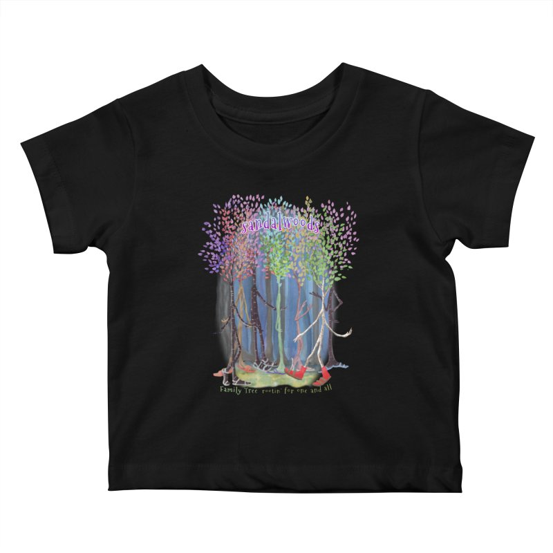 Sandalwoods Kids Baby T-Shirt by Family Tree Artist Shop