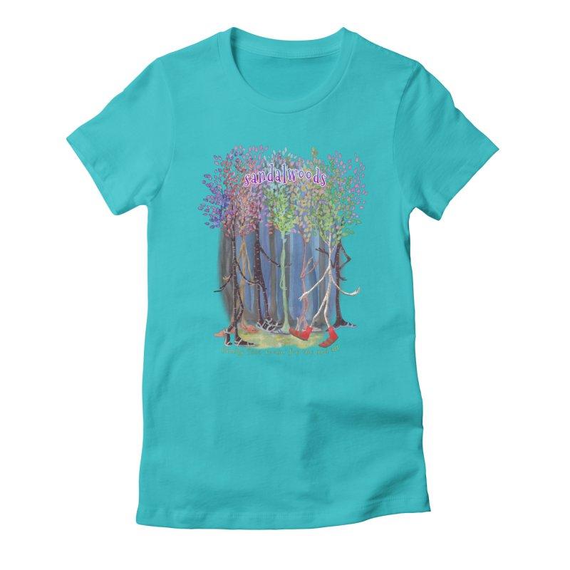 Sandalwoods Women's T-Shirt by Family Tree Artist Shop
