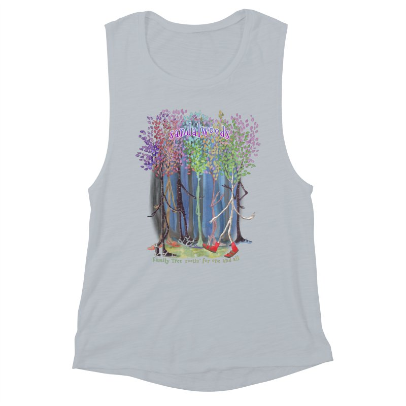 Sandalwoods Women's Tank by Family Tree Artist Shop