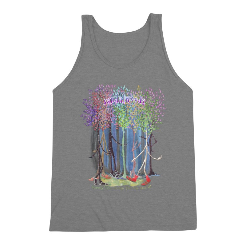 Sandalwoods Men's Triblend Tank by Family Tree Artist Shop