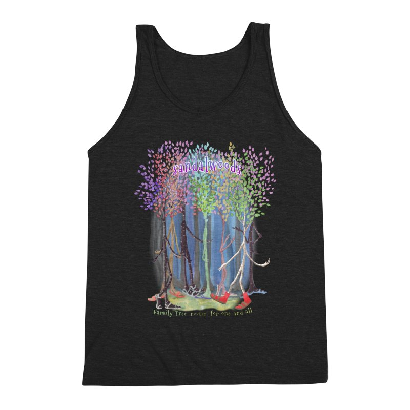 Sandalwoods Men's Tank by Family Tree Artist Shop