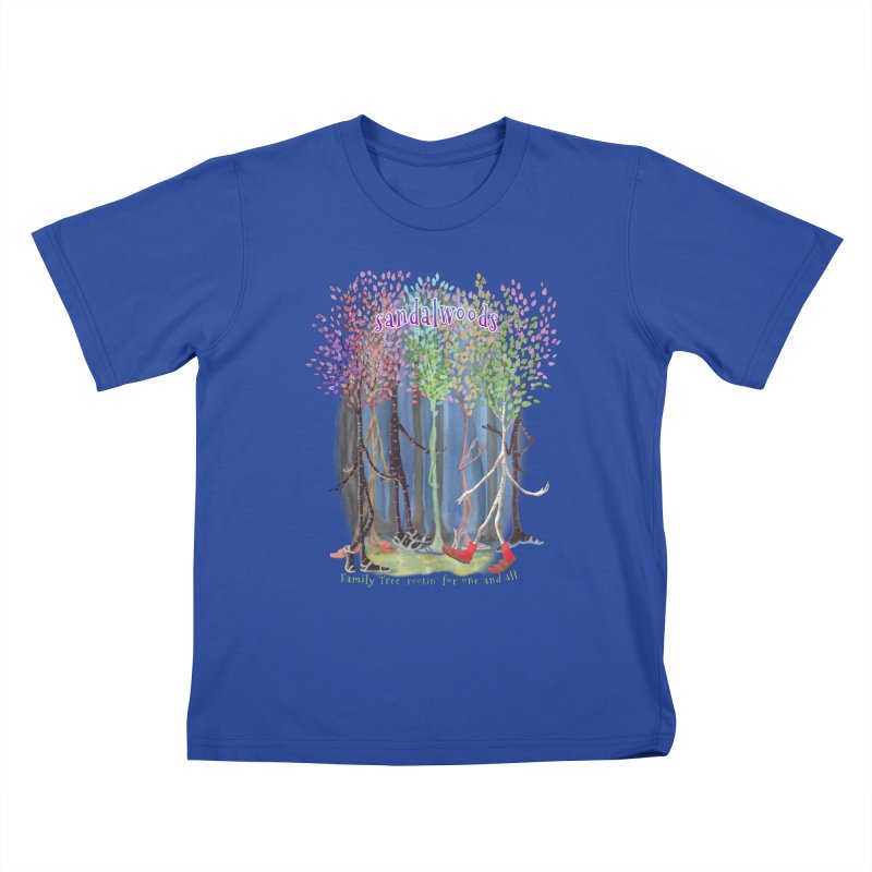 Sandalwoods Kids T-Shirt by Family Tree Artist Shop