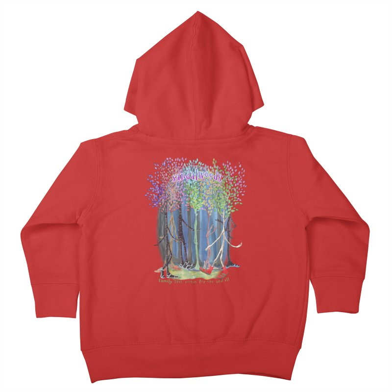 Sandalwoods Kids Toddler Zip-Up Hoody by Family Tree Artist Shop