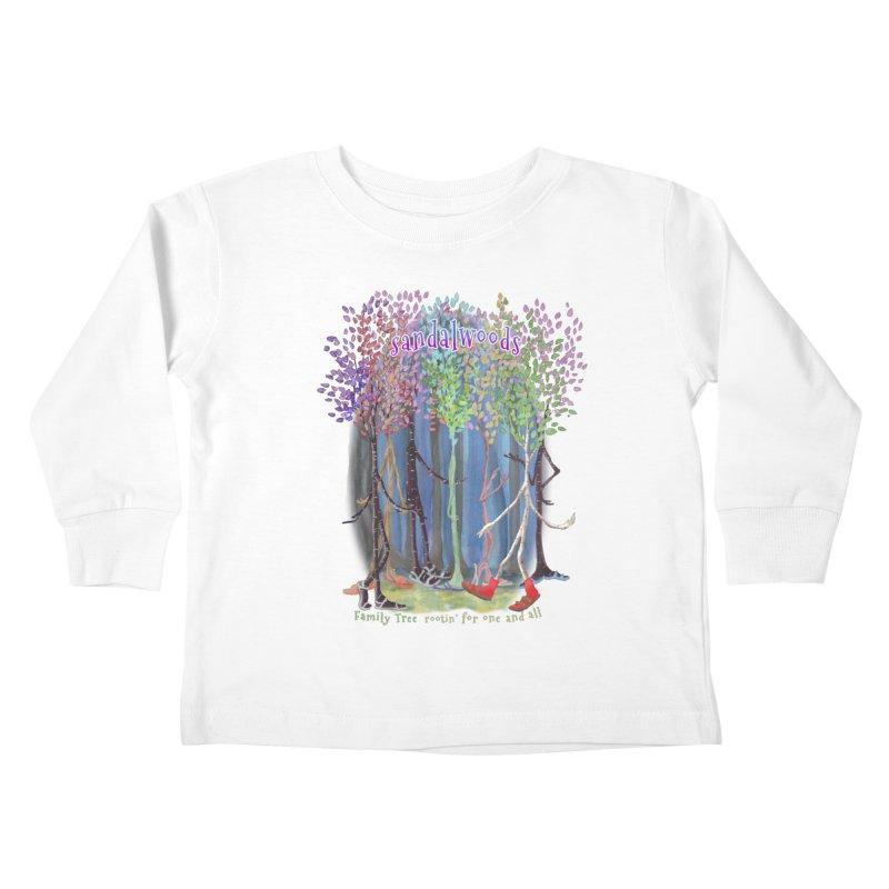 Sandalwoods Kids Toddler Longsleeve T-Shirt by Family Tree Artist Shop