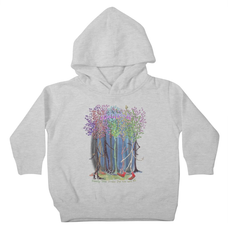Sandalwoods Kids Toddler Pullover Hoody by Family Tree Artist Shop
