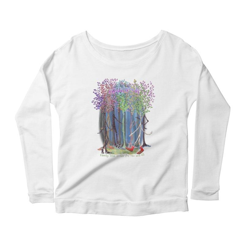Sandalwoods Women's Scoop Neck Longsleeve T-Shirt by Family Tree Artist Shop