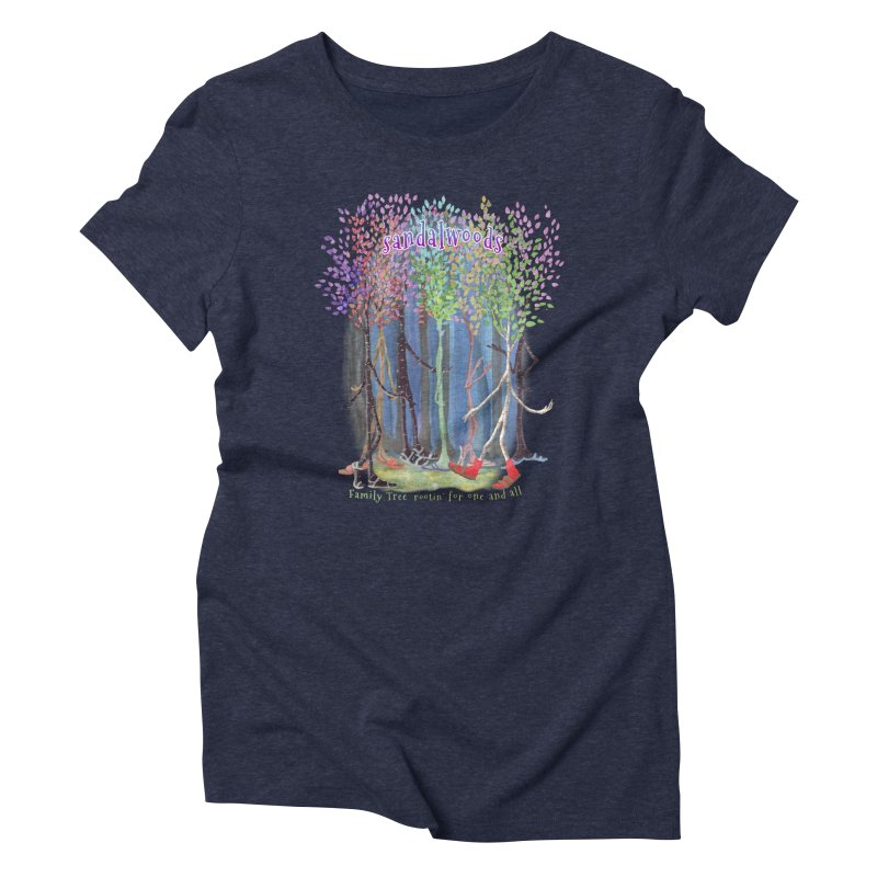 Sandalwoods Women's Triblend T-Shirt by Family Tree Artist Shop