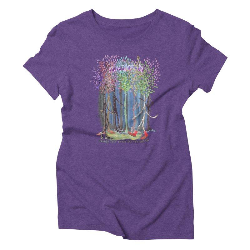 Sandalwoods Women's Triblend T-Shirt by Family Tree Artist Shop