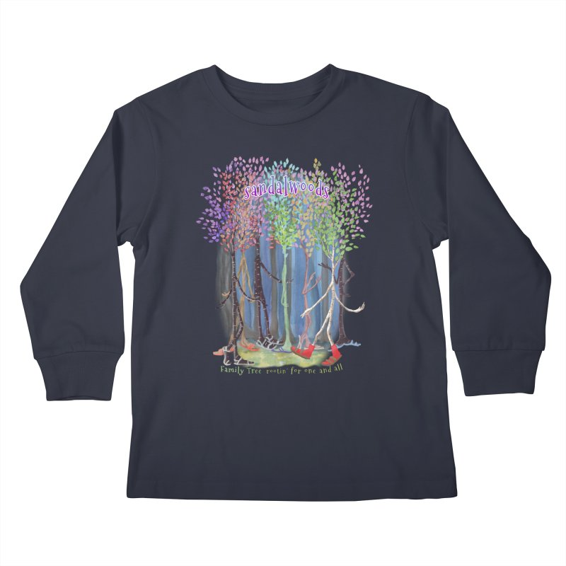 Sandalwoods Kids Longsleeve T-Shirt by Family Tree Artist Shop