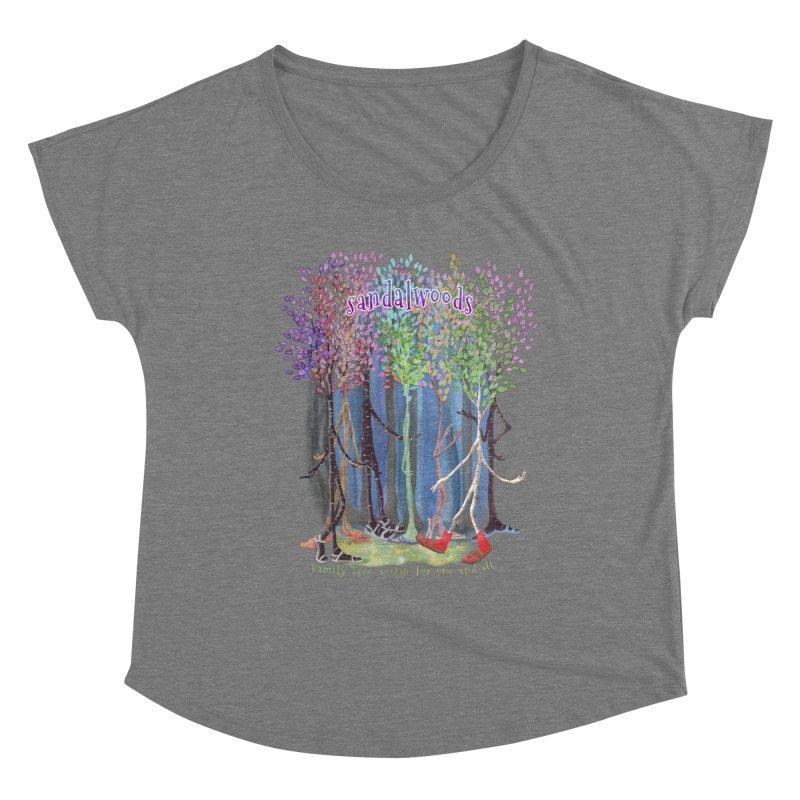 Sandalwoods Women's Scoop Neck by Family Tree Artist Shop