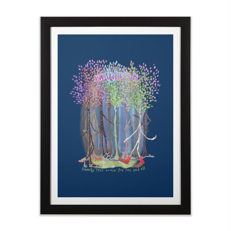 Sandalwoods Home Framed Fine Art Print by Family Tree Artist Shop