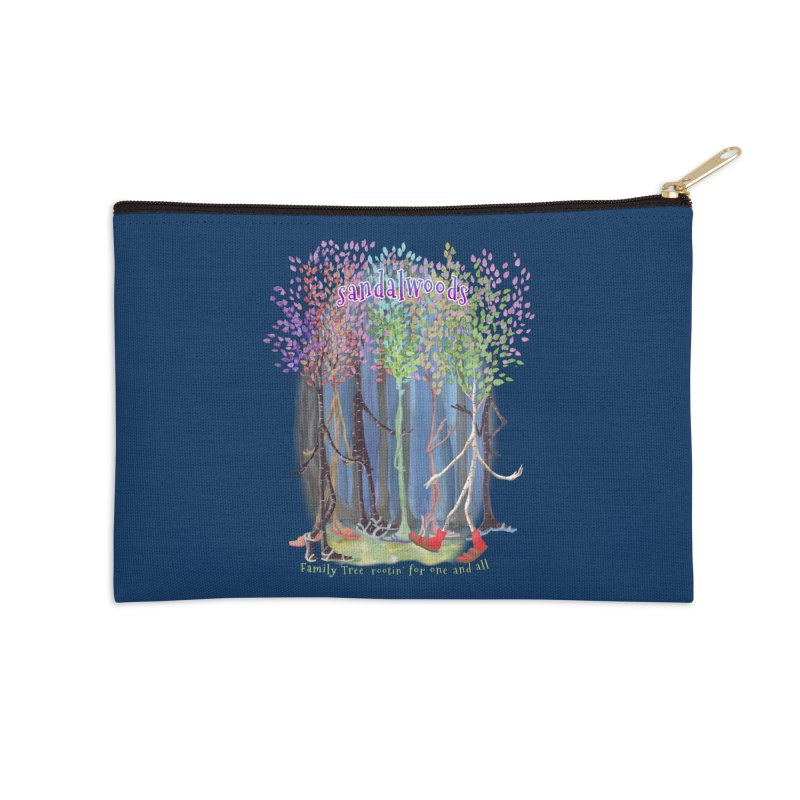 Sandalwoods Accessories Zip Pouch by Family Tree Artist Shop