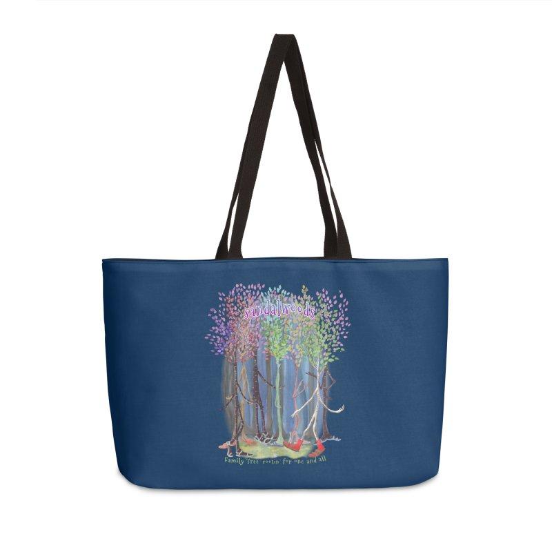 Sandalwoods Accessories Weekender Bag Bag by Family Tree Artist Shop