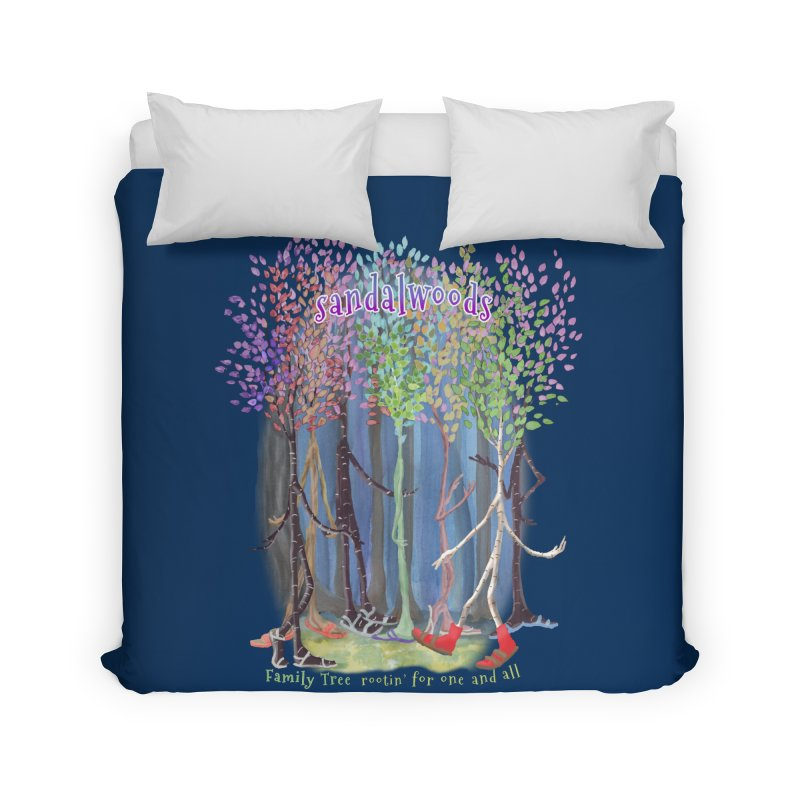 Sandalwoods Home Duvet by Family Tree Artist Shop