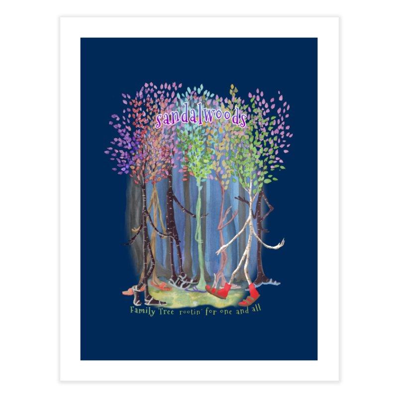 Sandalwoods Home Fine Art Print by Family Tree Artist Shop