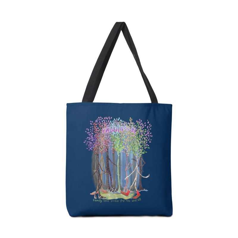 Sandalwoods Accessories Bag by Family Tree Artist Shop