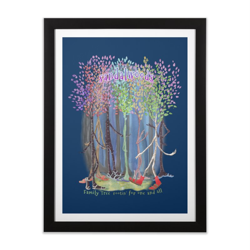 Sandalwoods Home Framed Fine Art Print by Family Tree Artist Shop