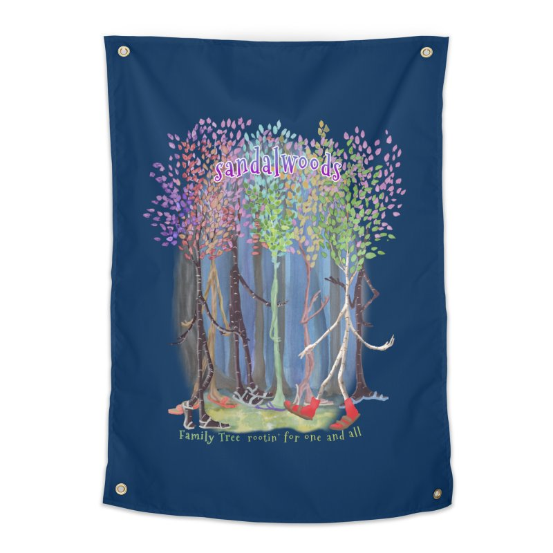 Sandalwoods Home Tapestry by Family Tree Artist Shop