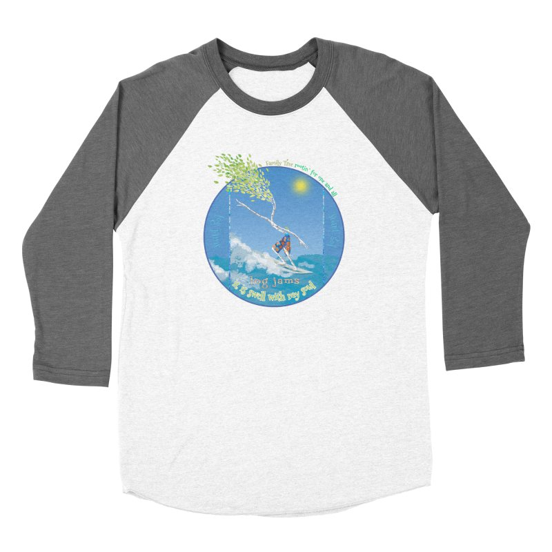 Log Jams Women's Longsleeve T-Shirt by Family Tree Artist Shop