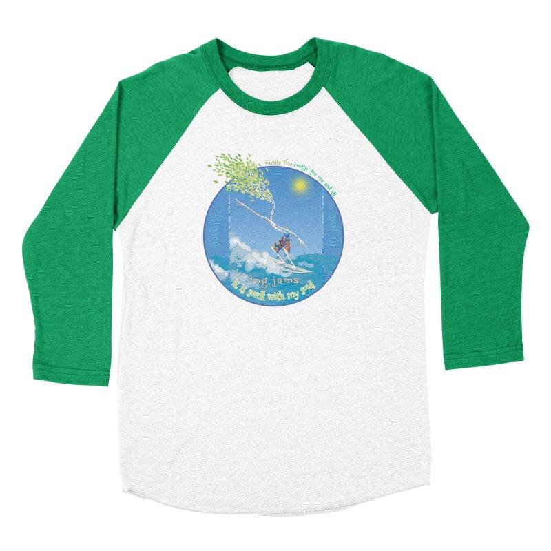 Log Jams Women's Longsleeve T-Shirt by Family Tree Artist Shop