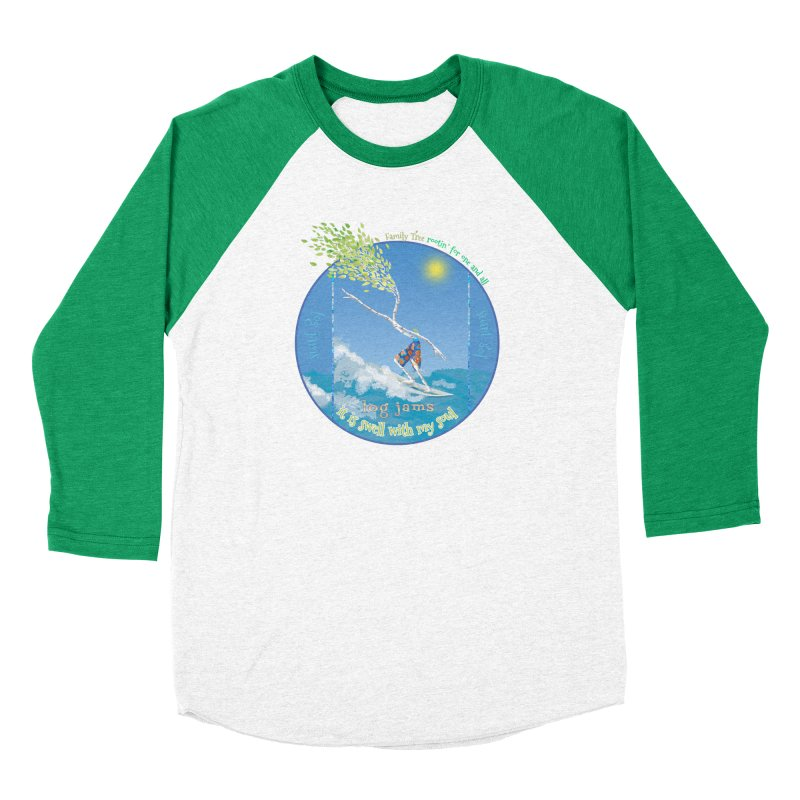 Log Jams Men's Longsleeve T-Shirt by Family Tree Artist Shop