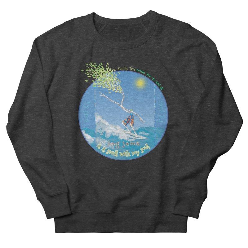 Log Jams Women's Sweatshirt by Family Tree Artist Shop