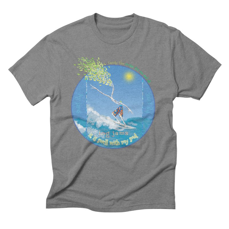Log Jams Men's T-Shirt by Family Tree Artist Shop